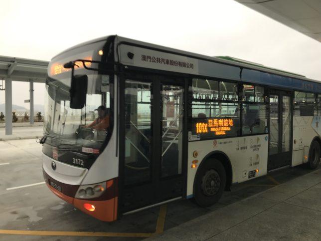 マカオの路線バス