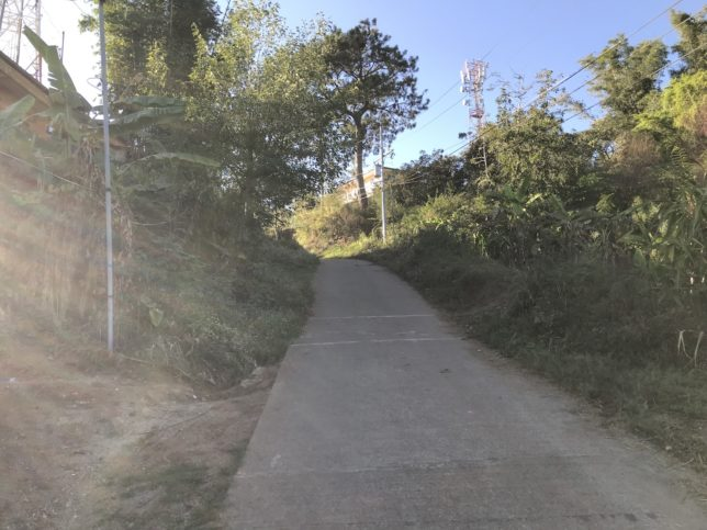 Mt. Kalugong(カルゴン山)