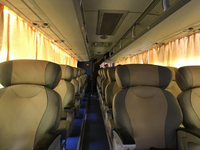 Joy Bus 座席