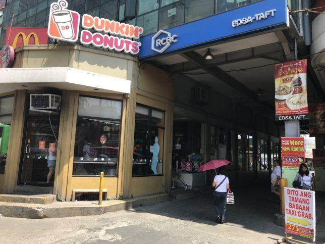 Joy Bus @ Pasay の入り口