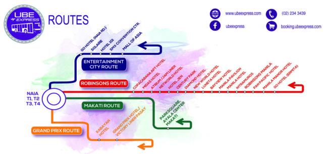 UBE Expressルートマップ