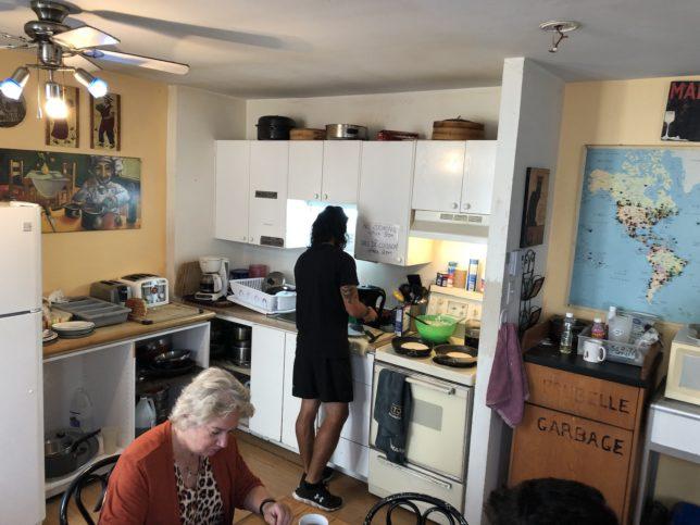 Auberge Maeva(キッチン)